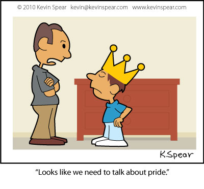 Spear 2862 Cartoon: Talking About Pride