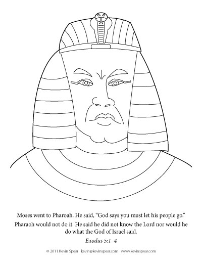 Free Egyptian Chariots Coloring Pages Pharaoh Coloring Pages
