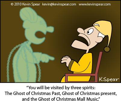 Spear Cartoon 3733 Vexed Christmas Spirit