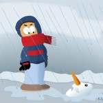 Spear 3747 150x150 Cartoon: Stuck up Snowman