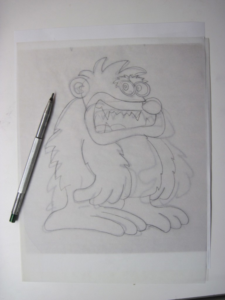 IMG 44531 768x1024 Monster Sketch Refined