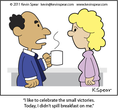 Spear cartoon 3784  Small Victories
