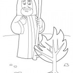 Spear 3840 150x150 Coloring Page: Nativity