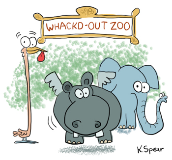 0206 Sketchbook 0004 Whacked Out Zoo
