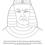 Moses MeanPharaoh 150x150 Activity Page: Moses/Egypt Maze