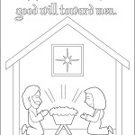 Spear Nativity01 150x150 Coloring Page: Nativity