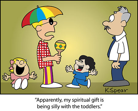 Spear 3872 Cartoon: Gift of Silliness