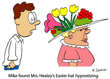 3317 Cartoon: Hypnotizing Easter