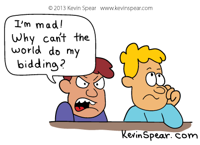 Spear 3917 Cartoon: Do My Bidding